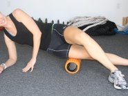 IT band pain roller